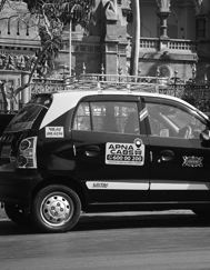 Convenient Taxi Ride with Apnacabs